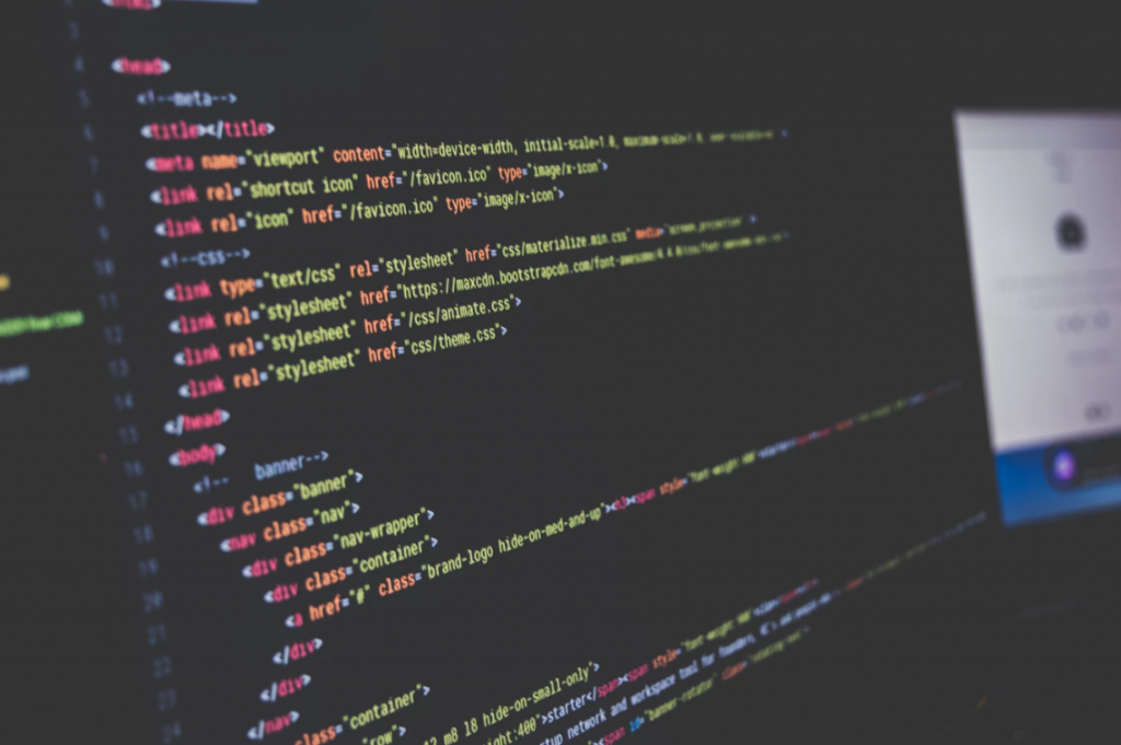 bilde av datakoder for å vise til wehhotell kildekode